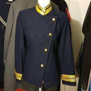 Jackets & Blazers - Vintage Military Style Jacket